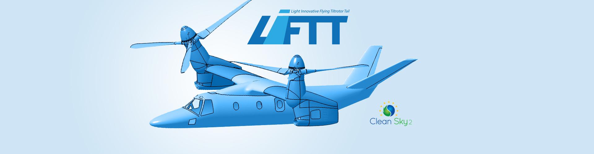 Light Innovative Flying Tiltrotor Tail (LIFTT)
